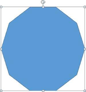 十角形を描画