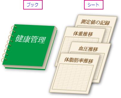 エクセルのブックとシートのイメージ画