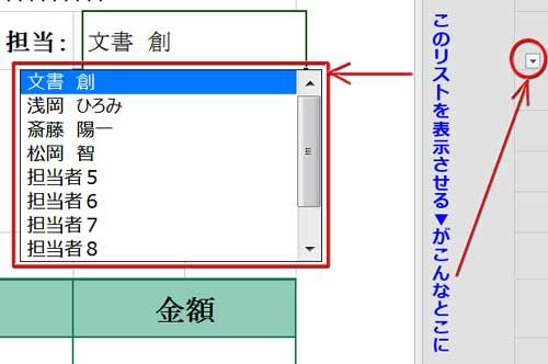 ページレイアウト表示の時にドロップダウンリスト▼の位置がずれる