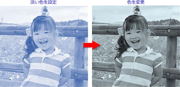 「色▼」→「図の変更」の「その他の色」から色を変更すると元の設定と違う